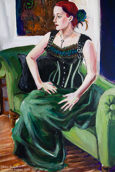 Portrait of Libby Bulloff by Suzanne Forbes June 2009