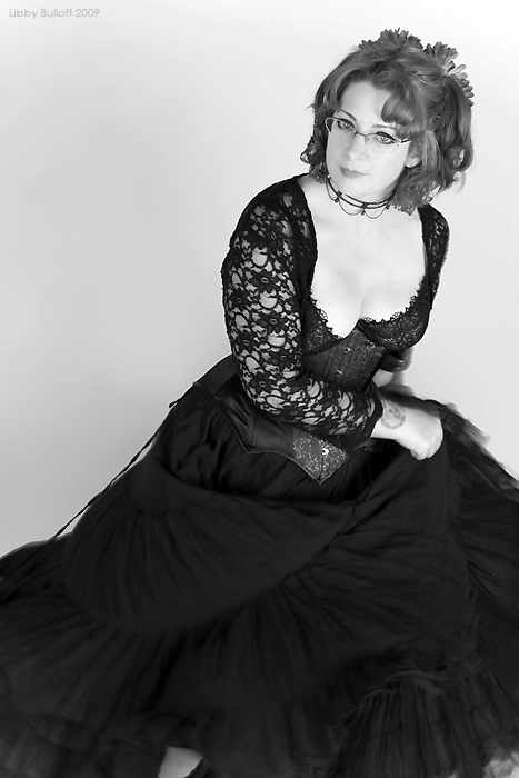Suzanne Forbes by Libby Bulloff black and white June 2009