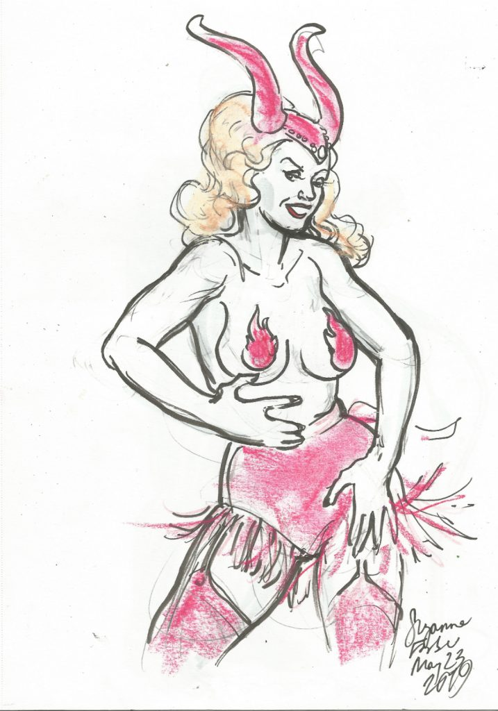 Stella von Fersen at Extravagant Shambles Tits Bits and Politics May 23 2019 by Suzanne Forbes